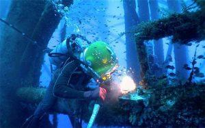 اللحام تحت الماء
